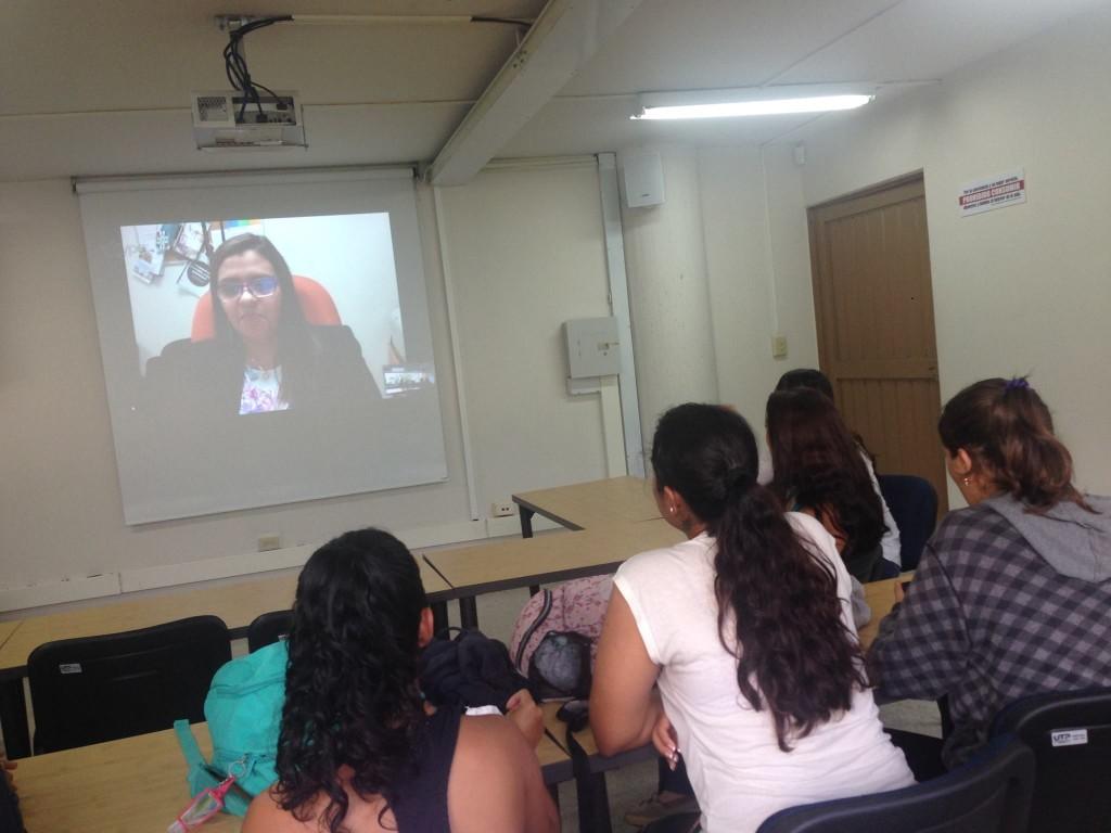 Videoconferencia con Dra. Rosa Medina
