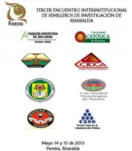 Tercer encuentro interinstitucional de semilleros de investigación de Risaralda.