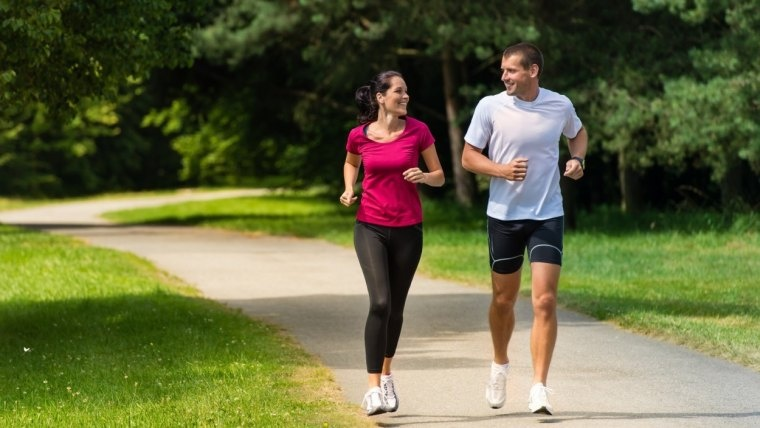 Realiza actividad física en la U